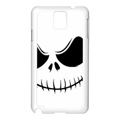 Halloween Samsung Galaxy Note 3 N9005 Case (white) by Valentinaart