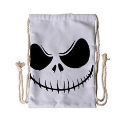 Halloween Drawstring Bag (small) by Valentinaart