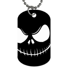 Halloween Dog Tag (one Side) by Valentinaart