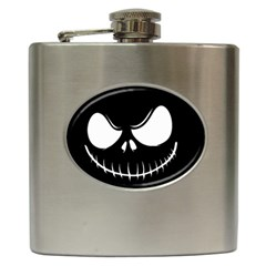 Halloween Hip Flask (6 Oz) by Valentinaart