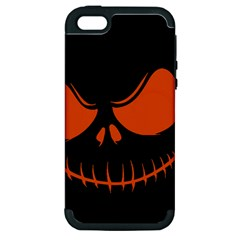 Halloween Apple Iphone 5 Hardshell Case (pc+silicone) by Valentinaart