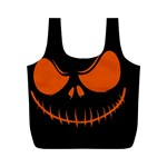 Halloween Full Print Recycle Bags (M)  Back