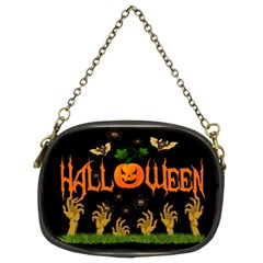 Halloween Chain Purses (two Sides)  by Valentinaart