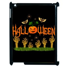 Halloween Apple Ipad 2 Case (black) by Valentinaart