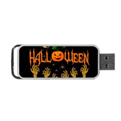 Halloween Portable Usb Flash (two Sides)