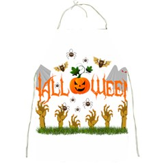 Halloween Full Print Aprons by Valentinaart