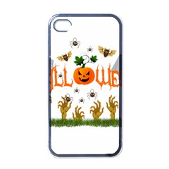 Halloween Apple Iphone 4 Case (black) by Valentinaart