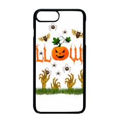 Halloween Apple Iphone 7 Plus Seamless Case (black) by Valentinaart