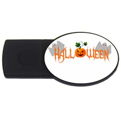 Halloween Usb Flash Drive Oval (2 Gb)
