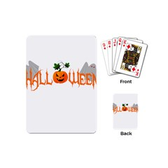 Halloween Playing Cards (mini)