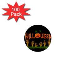Halloween 1  Mini Magnets (100 Pack)