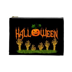 Halloween Cosmetic Bag (large)