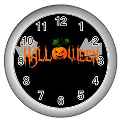 Halloween Wall Clocks (silver)