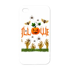 Halloween Apple Iphone 4 Case (white) by Valentinaart