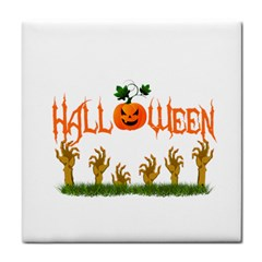 Halloween Tile Coasters by Valentinaart