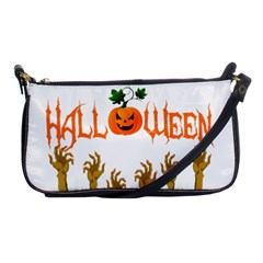 Halloween Shoulder Clutch Bags by Valentinaart