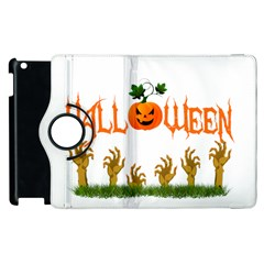 Halloween Apple Ipad 3/4 Flip 360 Case by Valentinaart