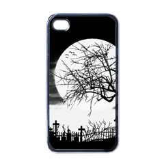 Halloween Landscape Apple Iphone 4 Case (black)
