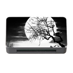 Halloween Landscape Memory Card Reader With Cf by Valentinaart