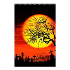 Halloween Landscape Shower Curtain 48  X 72  (small)
