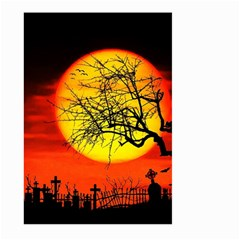 Halloween Landscape Large Garden Flag (two Sides)