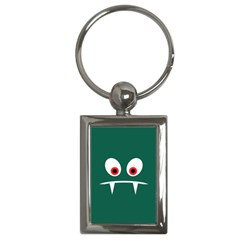 Angry Monster Key Chains (rectangle)  by linceazul