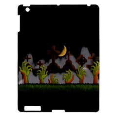 Halloween Zombie Hands Apple Ipad 3/4 Hardshell Case by Valentinaart