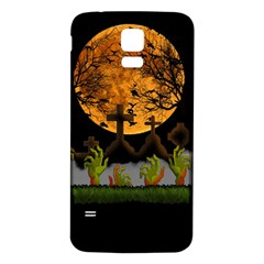 Halloween Zombie Hands Samsung Galaxy S5 Back Case (white)