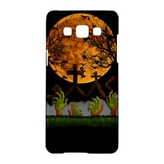 Halloween Zombie Hands Samsung Galaxy A5 Hardshell Case