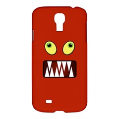 Funny Monster Face Samsung Galaxy S4 I9500/i9505 Hardshell Case by linceazul