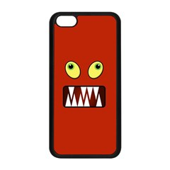 Funny Monster Face Apple Iphone 5c Seamless Case (black) by linceazul