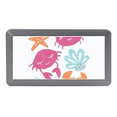 Animals Sea Flower Tropical Crab Memory Card Reader (mini) by Mariart