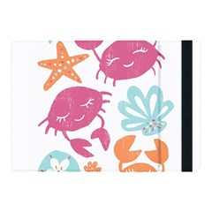 Animals Sea Flower Tropical Crab Apple Ipad Pro 10 5   Flip Case by Mariart
