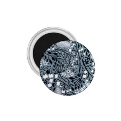 Abstract Floral Pattern Grey 1 75  Magnets by Mariart