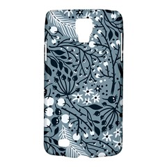 Abstract Floral Pattern Grey Galaxy S4 Active by Mariart