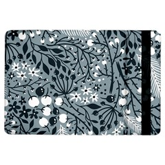 Abstract Floral Pattern Grey Ipad Air Flip by Mariart