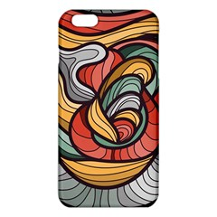 Beautiful Pattern Background Wave Chevron Waves Line Rainbow Art Iphone 6 Plus/6s Plus Tpu Case by Mariart