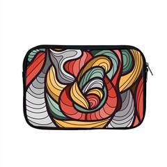Beautiful Pattern Background Wave Chevron Waves Line Rainbow Art Apple Macbook Pro 15  Zipper Case by Mariart