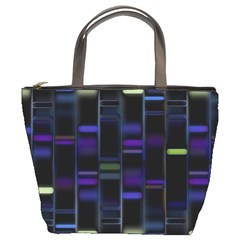 Biostatistics Line Blue Bucket Bags by Mariart