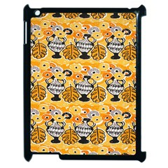 Amfora Leaf Yellow Flower Apple Ipad 2 Case (black) by Mariart