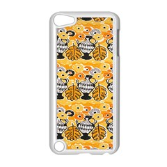 Amfora Leaf Yellow Flower Apple Ipod Touch 5 Case (white) by Mariart