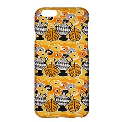 Amfora Leaf Yellow Flower Apple Iphone 6 Plus/6s Plus Hardshell Case by Mariart