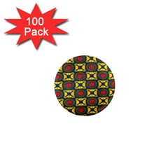 African Textiles Patterns 1  Mini Magnets (100 Pack)  by Mariart