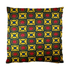 African Textiles Patterns Standard Cushion Case (two Sides) by Mariart