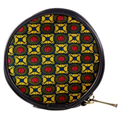 African Textiles Patterns Mini Makeup Bags by Mariart