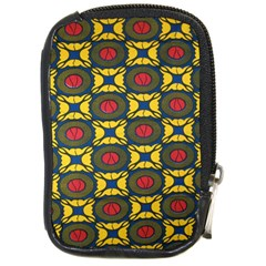 African Textiles Patterns Compact Camera Cases by Mariart