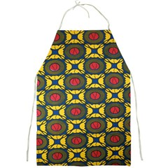 African Textiles Patterns Full Print Aprons by Mariart