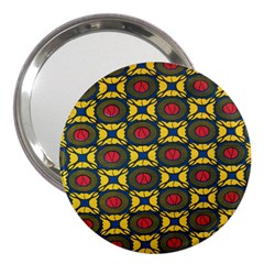 African Textiles Patterns 3  Handbag Mirrors
