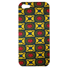 African Textiles Patterns Apple Iphone 5 Hardshell Case by Mariart