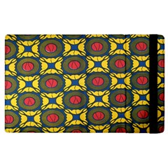 African Textiles Patterns Apple Ipad 2 Flip Case by Mariart